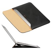 New MacBook 12 inch Case Sleeve with Stand, OMOTON Wallet
