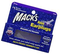 Mack's AquaBlock Earplugs - Clear