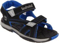 Timberland Mad River 2-Strap Sandal ,Black/Royal,5 M US