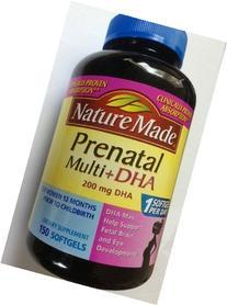 Nature Made Prenatal Multi Vitamines plus 200mg DHA 150~300