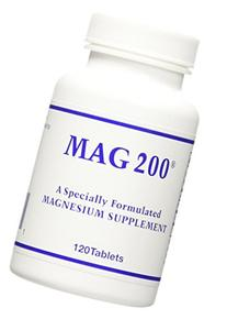 OPTIMOX Mag 200 Magnesium Supplement Tablets, 120 Count