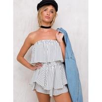 Magic Act Strapless Romper