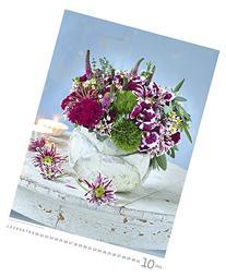 Magic Flowers Wall Calendar 2016 - Bouquet Calendar - Poster