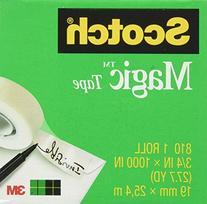 Scotch Magic Tape, 3/4 x 1000 Inches, Boxed, 24 Rolls