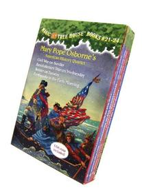Magic Tree House Volumes 21-24 Boxed Set: American History