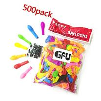 GFU 500 Pack Magic Water Balloons in 7 Vibrant Colors Refill