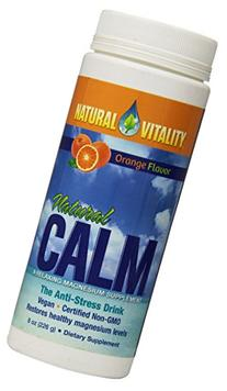 Natural Vitality Natural Magnesium Calm Orange -- 8 oz
