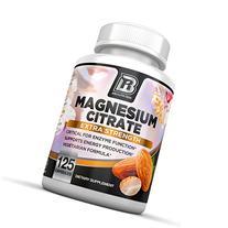 BRI Nutrition Magnesium Citrate - 125 Count 400 mg per