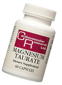 Cardiovascular Research - Magnesium Taurate, 125 mg, 180