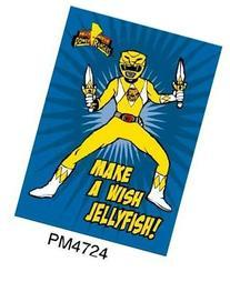 Magnet - Power Rangers - Yellow Ranger