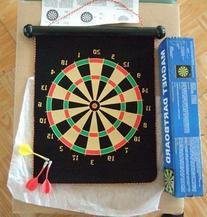 PrimeTrendz TM Brand New Large Magnetic Dartboard Dart Board