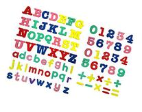 Officeship Magnetic Letters and Number Playset, Education