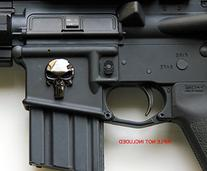 Magwell Metal Decal / Sticker - Punisher Skull for AR15 / M4