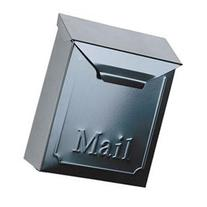 Mailbox Wall Locking Blk