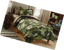 Mainstays Kids' Camoflauge Coordinated Bedding Set