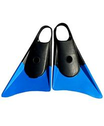 Churchill Makapuu Swimfins - Black/Blue - Medium/Large