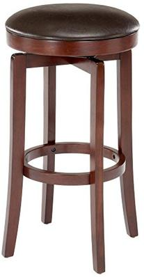 Hillsdale Furniture Malone Cherry Wood Backless Swivel