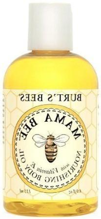 Burt's Bees Mama Bee Body Oil with Vitamin E, 4-Ounce