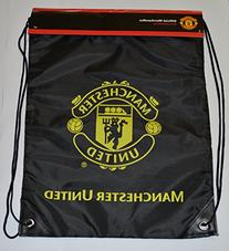 Manchester United GYM Sack BAG Drawstring Backpack Cinch Bag