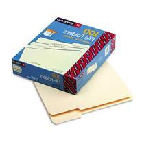 Smead Manila File Folder, 1/3-Cut Tab, Letter Size, Manila,