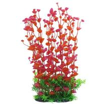 Jardin Manmade Plastic Plant for Fish Tank, 14.2-Inch Height
