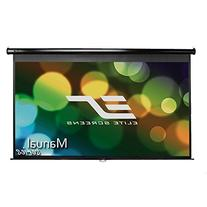 Elite Screens Manual, 106-inch 16:9, Pull Down Projection