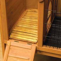 Ware Manufacturing Premium Plus Wood Deck for Rabbit and