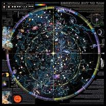 "36"" x 36"" Map of the Universe Poster"