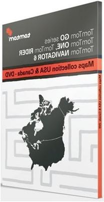 Tomtom Maps Of USA & Canada