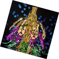 Mardi Gras Mask Shower Centerpiece