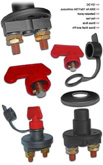 Marine Battery Isolator Kill Switch for Boats- 500 Amps/175