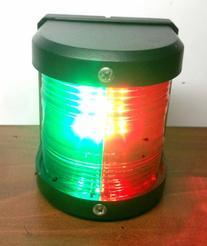 MARINE BOAT RED & GREEN BOW LED NAVIGATION LIGHT WATERPROOF
