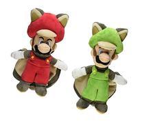 Little Buddy Mario Plush Doll Set of 2 - Flying Squirrel