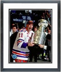 Mark Messier New York Rangers 1994 Stanley Cup Photo  Framed