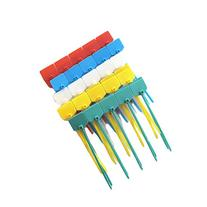 Amgate 100 Pcs 4 Inch Marker Nylon Cable Ties Write on
