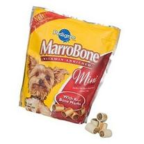 Pedigree Marrobone Mini Beef Flavor Dog Snacks 15 OZ