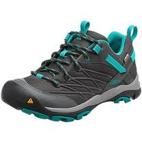 KEEN Women's Marshall WP Hiking Shoe,Magnet/Capri Breeze,6 M
