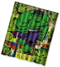 Marvel Comic Hulk Waterproof Custom Waterproof Shower