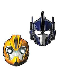 Masks 8/Pkg-Transformers 4 by American Greetings