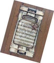 Mason Canning Jar Shutter FAMILIES are like branches on a