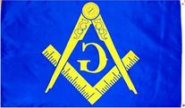 Masonic  Flag - 3 foot by 5 foot Polyester