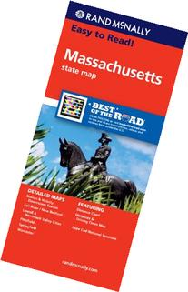 Rand McNally Massachusetts State Map