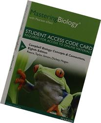 MasteringBiology with Pearson eText -- Standalone Access