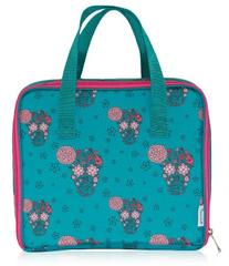 BlueAvocado Mat Case Lunch Bag, Girls Skulls