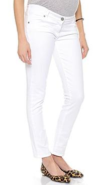 Women's Paige Denim 'Skyline' Maternity Ankle Skinny Stretch
