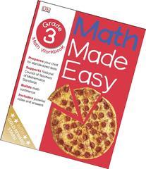 Math Made Easy: Third Grade Workbook