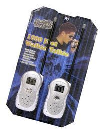 Matrix Zone Walkie Talkies - 59007M - Silver