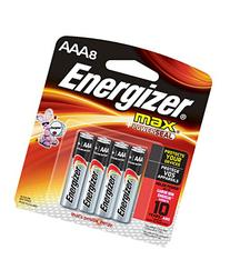 Energizer Max AAA, 8 Pack - Energizer Lighting