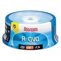 Maxell 638010 Dvd-R Spindle 4.75 G 25 Count