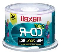 Maxell 80min  48x Gold CD-R Disc